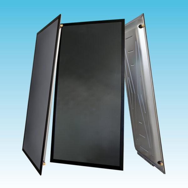 Collettore solare termico ad arpa verticale da 2,6 mq.