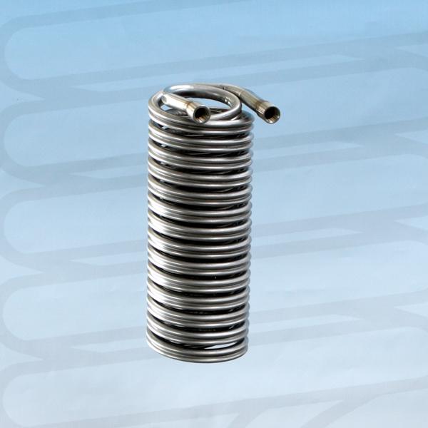 SSERPENTINA CON TUBO DIAMETRO 18 MM – DIAMETRO ESTERNO SERPENTINA 90 MM