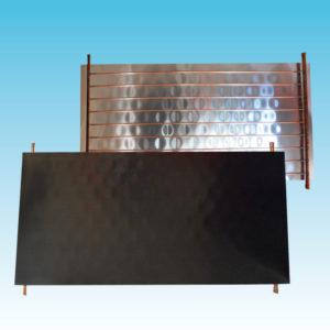 Assorbitore termico ad arpa orizzontale