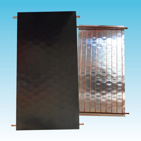 Assorbitore termico ad arpa verticale