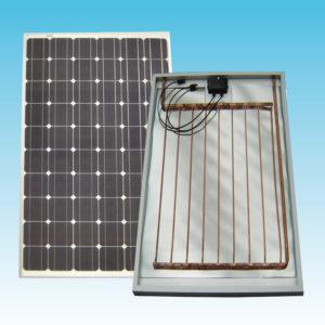 Assorbitore termico per pannello solare ibrido