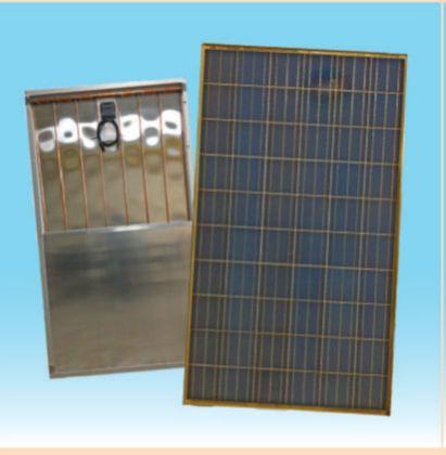 DE HYBRID - Pannello solare-fotovoltaico ibrido 1.67 mq.